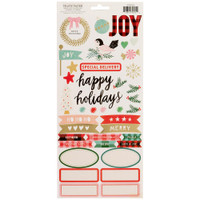 Crate Paper - Fa La La Christmas Stickers