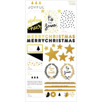 My Minds Eye - Christmas Stickers - Joyful