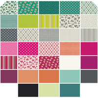 Denyse Schmidt Fabrics - Precuts - Fat Quarter Bundle - Washington Depot by Denyse Schmidt