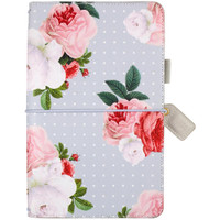 Webster's Pages - Color Crush - Travelers' Planner - Gray Floral - Standard