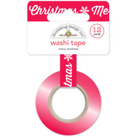 Doodlebug Washi Tape 15mm X 12yd - Merry Christmas
