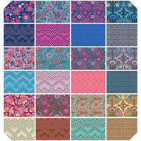 Free Spirit Fabrics - Precuts Charm Pack - Soul Mate by Amy Butler