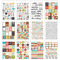 Carpe Diem - Simple Stories - A5 Sticker Book - Recipe