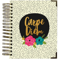 Carpe Diem - Spiral 16-Month Dated Weekly Planner - Good Vibes