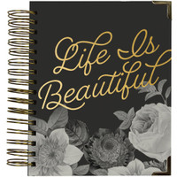 Carpe Diem - Spiral 16-Month Dated Weekly Planner - Beautiful