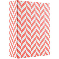 "Album - 4"" x 6"" - Coral Chevron"