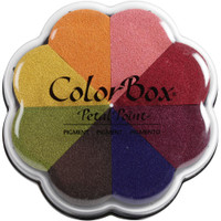 ColorBox Pigment Petal Point Ink Pad 8 Colors - Sunset