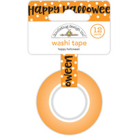 Doodlebug Washi Tape 15mm X 12yd - Happy Halloween