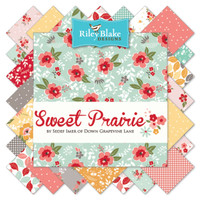 "Riley Blake Fabric - Precuts 10"" Stacker - Sweet Prairie by Sedef Imer Collection"