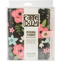 Carpe Diem - Personal Planner - Black Blossom