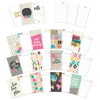 Carpe Diem - Simple Stories - Good Vibes Double-Sided Personal Planner Inserts - Monthly Undated