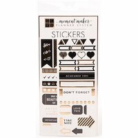 DCWV Moment Maker - Planner Stickers - Gold Foil