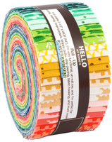 Robert Kaufman Fabric Precuts - Jelly Roll - Reef by Elizabeth Hartman