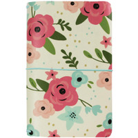 Carpe Diem Traveler's Notebook - Cream Blossom, Bloom