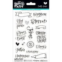 Illustrated Faith - Clear Stamps - Faith>Fear