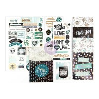 Prima Marketing - My Prima Planner Goodie Pack Embellishments - Zella Teal