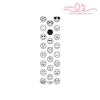 Studio l2e - Planner Stamps - Emoticons