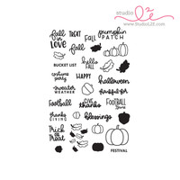 Studio l2e - Planner Stamps - Fall in Love