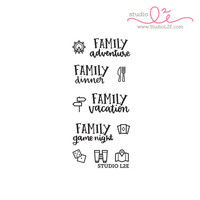 Studio l2e - Planner Stamps - Family Adventure