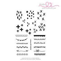 Studio l2e - Planner Stamps - Pattern Play