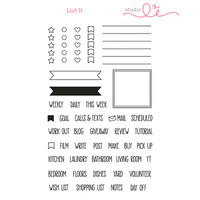 Studio l2e - Planner Stamps - List It