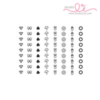 Studio l2e - Planner Stamps - List It: Big Spring