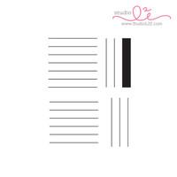 Studio l2e - Planner Stamps - List It: Lines