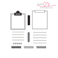 Studio l2e - Planner Stamps - Life Notes