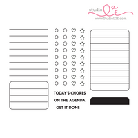 Studio l2e - Planner Stamps - List It: Big