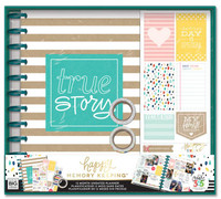 The Happy Planner - Me and My Big Ideas - Happy Memory Keeping - BIG Box Kit - True Story / Kraft (Undated)