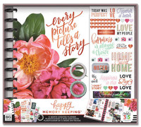 The Happy Planner - Me and My Big Ideas - Happy Memory Keeping - BIG Box Kit - Every Picture Tells A Story (Undated, Vertical)