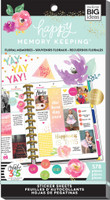 Me and My Big Ideas - The Happy Planner - Sticker Value Packs - BIG - Floral Memories (#578)