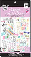 Me and My Big Ideas - The Happy Planner - Sticker Value Packs - BIG - Dates and Holidays (#2601)