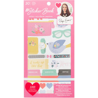 American Crafts - Designer Sticker Book - Paige Evans