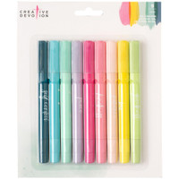 American Crafts - Creative Devotion Gel Crayons - Set of 9