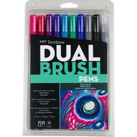 Tombow Dual Brush Markers - Set of 10 - Galaxy