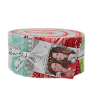 Moda Fabric Precuts Jelly Roll - Vintage Holiday by Bonnie & Camille
