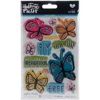 Illustrated Faith Basics Stamps - Fly Free