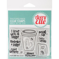 Avery Elle - Clear Stamp Set - Cool Beans