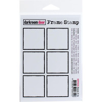 "Darkroom Door - Cling Stamp 4.5"" x  3"" - Boxes 6 Up"