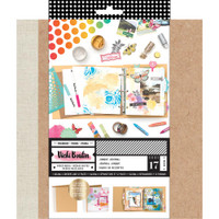 Vicki Boutin - Mixed Media Junque Journal