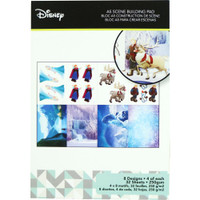 Disney A5 Scene Building Pad 32 Sheets - Frozen