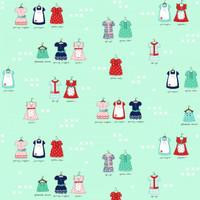 Fabric - A Little Sweetness - Tasha Noel - Main Mint #C6510R-MINT
