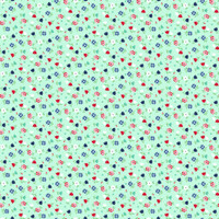Fabric - A Little Sweetness - Tasha Noel -Sweetness Floral Mint # C6512R-MINT