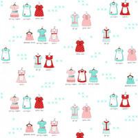 Fabric - A Little Sweetness - Tasha Noel -Sweetness Main White# C6510R-WHITE