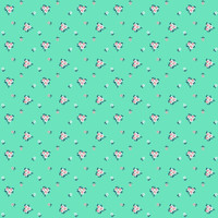 Fabric - A Little Sweetness - Tasha Noel -Sweetness Vintage Mint # C6515R-MINT
