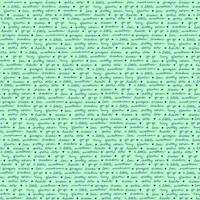 Fabric - A Little Sweetness - Tasha Noel -Sweetness Text Mint #C6514R-MINT