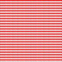 Fabric - A Little Sweetness - Tasha Noel Sweetness Scallops Red# C6516R-RED