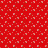 Fabric - A Little Sweetness - Tasha Noel Sweetness Sweetness  Vintage Red# C6515R-RED