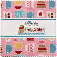 Riley Blake Fabrics - Charm Pack - Bake Sale 2 by Lori Holt